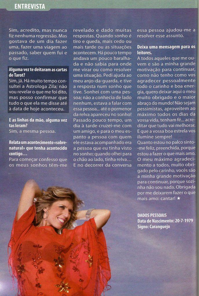 Zila, Celina, Revista Boa Estrela